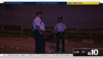 Teens Breaking Curfew Shot in Grays Ferry
