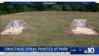 Spray-Painted Swastikas Surface at NJ Park