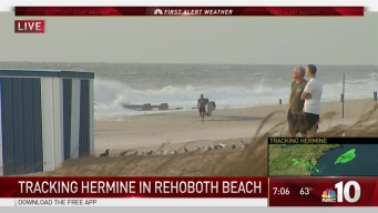 Delaware Beaches Brace for Brunt of Hermine