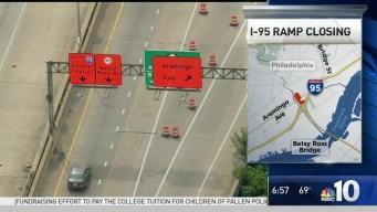 I-95 Ramp Closing
