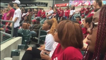 Temple's Black Student Union Protests During National Anthem