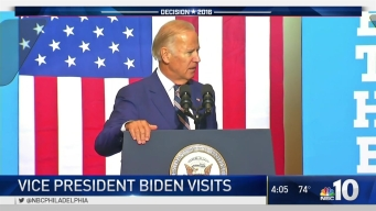 Joe Biden Visits Drexel University