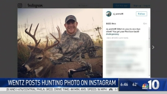 Wentz Posts Hunting Photo on Instagram
