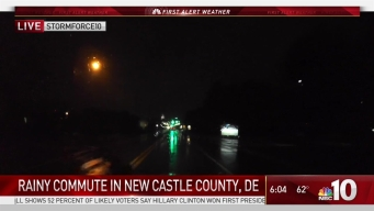 StormForce10 Tracks Rainy Commute in Delaware