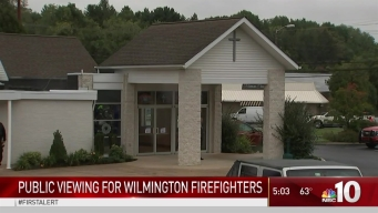 Public Viewing Held for Wilmington Firefighter Killed in Alleged Arson