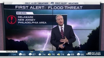 NBC First Alert Weather: Flash Flood Threat