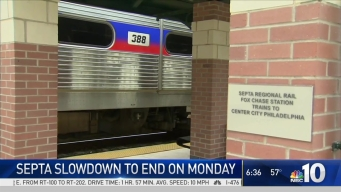 SEPTA Slowdown to End Monday