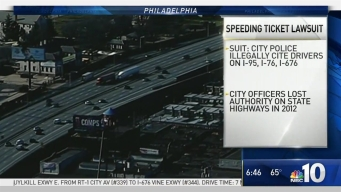 Philly Police Department in Legal Battle Over Speeding Tickets