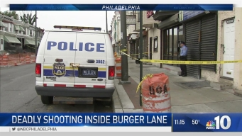 Burger Joint in North Philadelphia Scene of Deadly Shooting