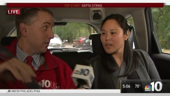 Commuters Get a Lyft with NBC10 During SEPTA Strike