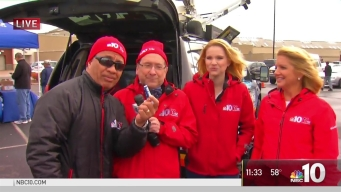 NBC10 Team Meeting Viewers at Philadelphia Mills