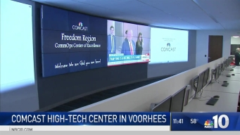 Comcast Unveils New High-Tech Center in New Jersey