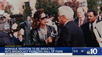NBC10's Monique Braxton Becomes a Hall of Famer