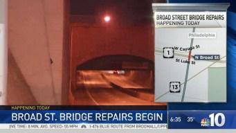 Broad Street Bridge Repairs