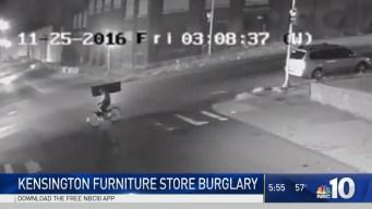 TV Thief Makes Getaway on Bicycle