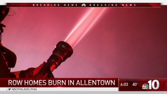 Allentown Row Home Fire Leaves Dozens Without a Place to Live