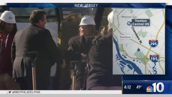Christie Helps Break Ground for New Trenton High School