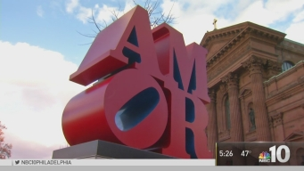 AMOR Statue Dedicated in Center City