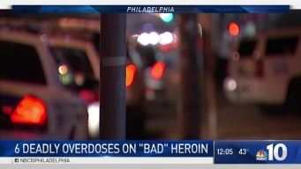 Six Deadly Heroin Overdoses in Philly Sunday