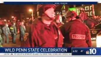 Wild Penn State Celebration