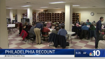 Philadelphia Election Recount Yields Few Votes