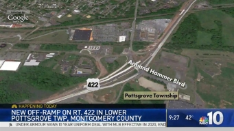 Newly Built Off-Ramp in Montco