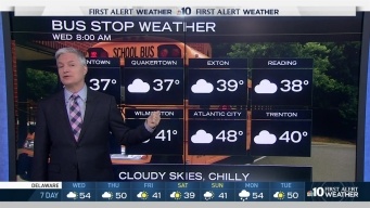 NBC10 First Alert Weather: Damp Roads, Clouds Remain