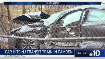 Driver Disregards Crossing, Strikes Train: NJ Transit