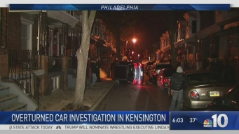 Police Searching for Suspect in Kensington Crash