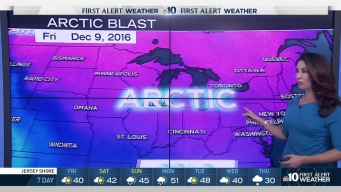NBC10 First Alert Weather: Arctic Cold Coming