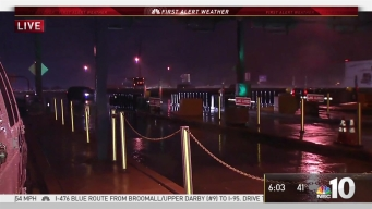 Wet Weather Slows Monday Commute in Montco