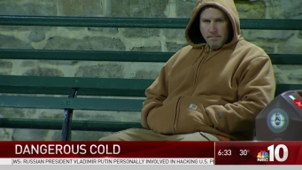 Commuters Dealing With Bitter Cold