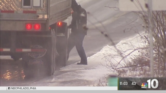 Wintry Mix Causes Slippery Roads