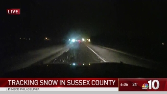Delaware Coast Begins to See Start of Snow Storm
