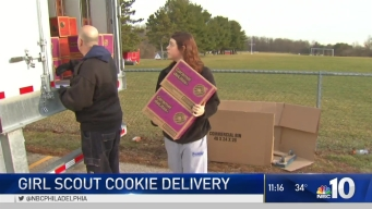 Girl Scout Cookie Delivery
