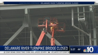 Delaware River Turnpike Bridge Closure Causing Commuter Headache
