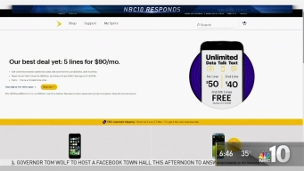 NBC10 Responds: Cell Phone Bill Promises Broken