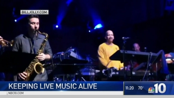 Musician Billy Jolly Keeping Live Music Alive