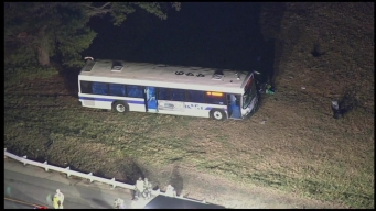 6 Injured in DART Bus Crash in Delaware