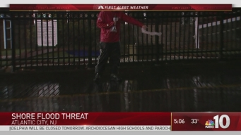 Jersey Shore Facing Flooding Threat
