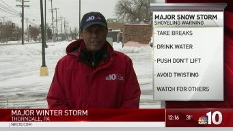 Snowstorm Safety Tips