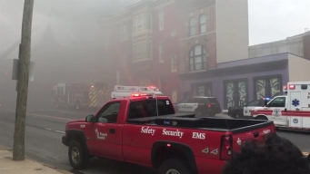 Fire Spreads Through Businesses in Wilmington, Delaware