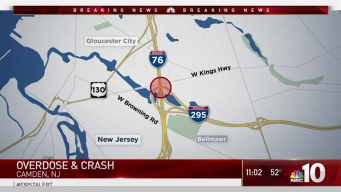 Woman Overdoses and Crashes Vehicle With Child Inside on I-76 in Gloucester City: Police