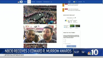 NBC10.com Wins 3 Murrow Awards