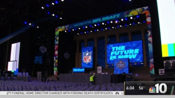 NFL Draft Day Kickoff Events, Fundraisers & Road Closures