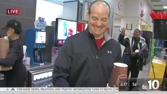 #NBC10Mornings at Chadds Ford Wawa for Morning Rush