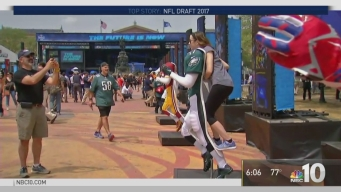 Fans Arrive for Round One of NFL Draft