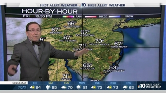 NBC10 First Alert Weather:  Hot & Sunny
