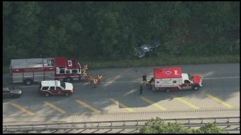 Vehicles Collide on Route 100 in West Goshen Township
