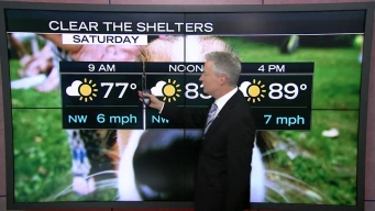 Clear the Shelters Forecast
